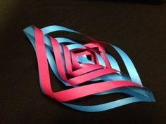 七夕飾り  簡単  折り紙  origami  tanabata