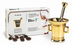 Pharma Nord Bio T 150 capsules - Bio-T van Pharma Nord combineert groene thee en CLA. CLA (geconjugeerd linolzuur) komt van nature voor in zuivelvet. Groene thee bevat EGCG en the�ne (cafe�ne). Elke capsule bevat 125 mg groene thee extract en 300 mg CLA.