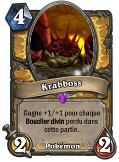Krabboss #Hearthstone #Pokemon