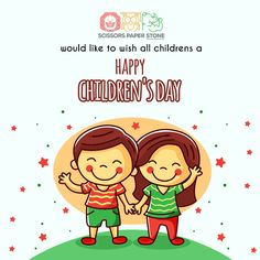 Children are adorable and innocent angels who deserve a day of tribute to childhood. They are not only the world's most valuable resource but also a hope for the future. Scissors Paper Stone wishes all Singaporeans a very happy Children's Day. Kids Hair Salon, Happy Children's Day, Hope For The Future, Lovely Smile, Child Day, Software Development, Special Day, Cuddling, Childhood