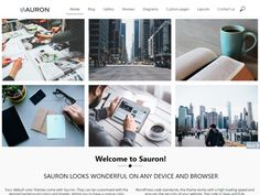 Sauron Popular — Free WordPress Themes