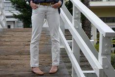bleach jeans to WHITE!