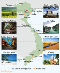 travel korea places to visit / travel korea - travel korea photography - travel korea seoul - travel korea outfit - travel korea places to visit - travel korea quotes - travel korea aesthetic Vietnam Map, Vietnam Travel Guide, Vietnam Voyage, Visit Vietnam, Cheap Places To Travel, Cool Places To Visit, Thailand Travel, Asia Travel, Travel Abroad