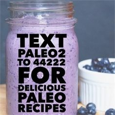 """Text """"paleo2"""" to 44222 for your free and delicious paleo recipes you can make right at home;) by paleodietcaveman"""