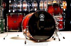 Yamaha Live Custom 3pc Drum Set 24x18 bass drum, 14x11 tom, 18x16 floor tom. Amber Shadow Sunburst. Purchase Here: http://www.drumcenternh.com/drums/drum-sets/yamaha-live-custom-3pc-drum-set-24-14-18.html