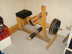 "The only homemade ""SEATED"" calf machine in the world?!?!?!? - Bodybuilding.com Forums"