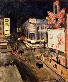 Fourteenth Street (1925) / by Alexander Calder