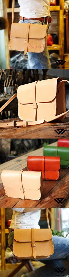Handmade leather vintage women stachel bag shoulder bag crossbody bag