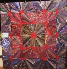 great great grandma's silk tie quilt | Antiques,Collectibles ... : silk tie quilts patterns - Adamdwight.com