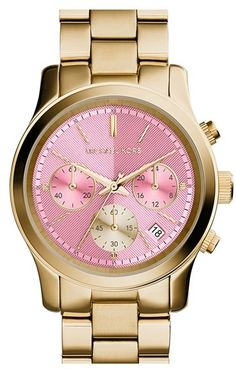What can I say?  I <3 pink. #relojmichaelkors #relojemichaelkors #michael kors #reloj #relojes #relojesmexico #relojesusa