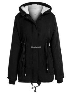 Fashion Women Casual Long Sleeve Zipper Fleece Hooded Coat jacket parka trench | eBay