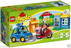 LEGO Duplo Pre-school 10532 My First Police Set NEW Factory Sealed