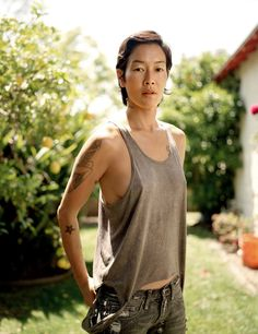 Jenny Shimizu | what a gorgeous woman, strong & sexy | photography by Emily Shur.