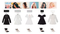 """RED VELVET - ONE OF THESE NIGHT❤"" by mabel-2310 on Polyvore featuring Miu Miu, Lanvin, Oscar de la Renta and Chanel"
