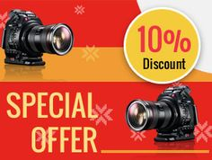 Check here our special #offers on digital #cameras and accessories available in multiple top digital camera brands like #NIKON, #CANON, #LEICA, #SONY, #SAMSUNG, #FUJIFILM, #PENTAX, #PANASONIC and more. Hurry Up... limited offers.