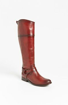 Frye 'Melissa Harness' Boot. Hoping these can be taken in and down to fit me. Fingers crossed!