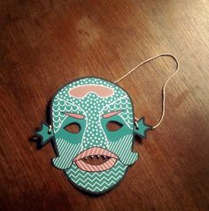 Creature From The Black Lagoon Kids Mask by Michael Arnold, via Behance