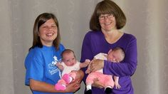 Grandma Gives Birth to Twin Granddaughters,,, sweet story