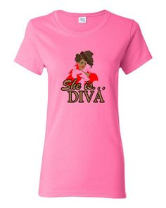 Ladies Heavy Cotton Classic Fit She is...Diva