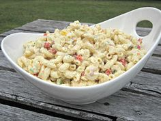 From Hungry Couple: The Ultimate Macaroni Salad - make it love it and make it again!  My family loves this recipe so I make it all the time!