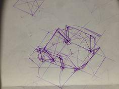 Caja desplegable. El objetivo de este ejercicio es poder dibujar las soluciones a las diferentes caras de la caja con un ángulo para poder que se viera como se esta formando la caja como también sus viñedos para el pegado. Lo mas complicado fueron las viñetas debido a que se me hizo muy confuso en donde se debía de poner el arco y hacia que lado. Los puntos de fuga imaginarios aun se me complican pero con practica mejoraran.