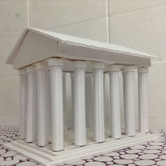 6th grade project parthenon