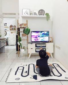51 Ideas For Mini Garden Dekorasi Small House Interior Design, Home Room Design, Diy Interior, Living Room Designs, Home Decor Furniture, Home Decor Bedroom, Living Room Decor, Minimalist Dining Room, Family Room Decorating