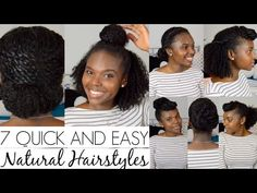 7 Quick and Easy Natural Hair Styles | Curly Nikki | Natural Hair Care