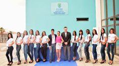 """Candidatas Miss """"M&M Ciudad Alta""""."""