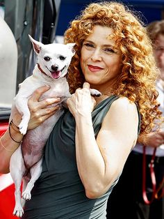 Bernadette Peters  fanny morton onto People and Their Dogs