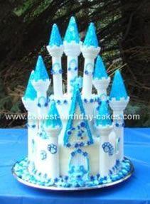 castle cakes blue Google Search cakes Pinterest Castle