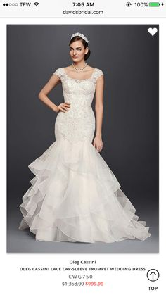 Beautiful Fit N Flare Bridal Gown Showcasing A Beaded Lace Bodice 421be0dd90ea