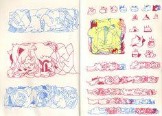 imploded sketchook by Jeroen Erosie, via Flickr