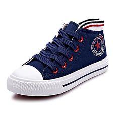 zapatos de la comodidad del niño   zapatillas de punta redonda talón plano de la moda lienzo zapatos más colores disponibles - USD $ 29.99