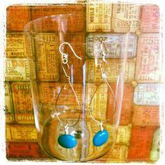 Surgical Steel Stone Beaded Earrings   16.00