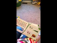 Several easy ways for teaching toddler letters! Our daughter did these and knew her alphabet by years old. Alphabet Video, Sing The Alphabet, Alphabet Sounds, Teaching The Alphabet, Alphabet Book, Teaching Toddlers Letters, Chemistry Teacher, Magnetic Letters, Beginning Sounds
