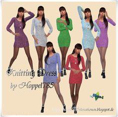 Sims 4 CC's - The Best: Dresses by Hoppel785