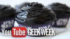 Darth Velvet Cupcakes - #GeekWeek Special Recipe | My Sweet Tooth