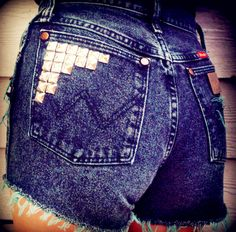 stud placement for shorts
