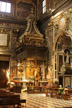 Tabernacle of the Annunciation, Basilica della Santissima Annunziata, Firenze