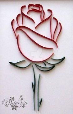 Quilled Roses, Paper Quilling Flowers, Neli Quilling, Quilled Paper Art, Paper Quilling Designs, Quilling Paper Craft, Paper Crafts, Quilling Flowers Tutorial, Quilling Comb
