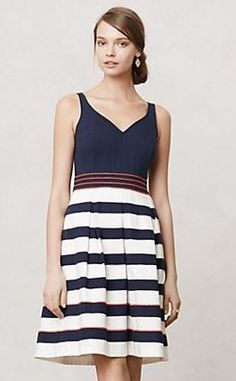 nautical stripes.  Love this for a wedding at the cape.