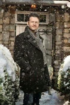 Blake, did you come to New York and expect it to not be snowing?  Silly boy!!  HAHA