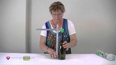 Glass Bottle Cutter - How to cut glass bottles Part 1 Cutting Wine Bottles, Bottles And Jars, Glass Bottles, Cut Bottles, Wine Bottle Glasses, Wine Bottle Corks, Wine Bottle Crafts, Bottle Cutter, Glass Cutter