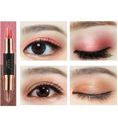 Etc Glitter Eyeshadow Plate Crease-Resistance T-stage Catwalk Wedding Party 1 Pcs Portable 9 Colors Long-lasting Casual