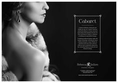 Cabaret Collection Advert www.rebeccasellorsjewellery.co.uk