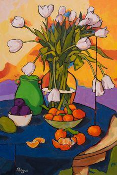 Angus Wilson - Tulips and Tangerines