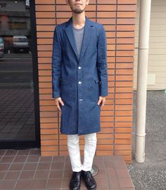 Men's Chester Coat by hibou designs