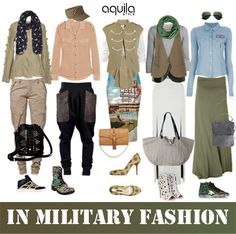 Keen to try military fashion but not sure how you can style your feminine, bubbly self? Farrah Eman shares how.