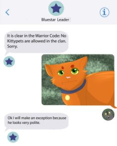 Cat Training Warrior Cats Into the Wild in a Nutshell by - Warrior Cats Comics, Warrior Cats Funny, Warrior Cat Memes, Warrior Cats Fan Art, Warrior Cats Series, Warrior Cats Books, Warrior Cat Drawings, Cat Comics, Warrior Cats Clans